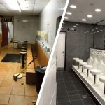 WuduMate Modulars result in this ablution area refurbishment in Scotland undertaken during COVID lockdown a great success