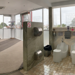 Wudumate foot wash basins in Office in Mozambique