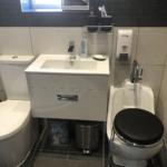 WuduMate Compact Foot Bath Incorporated Stylishly into Family Bathroom