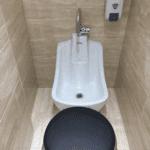 WuduMate Compact Installed into Home Wudu Area