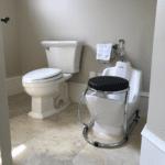WuduMate Compact Fits Neatly into Bathroom